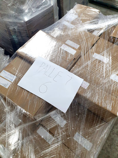 Young Writers USA Packed Pallets