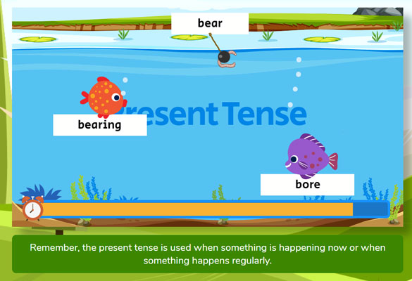 SPaG Monsters - Tenses Example